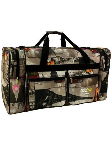 Duża, pojemna torba podróżna model 17 - city