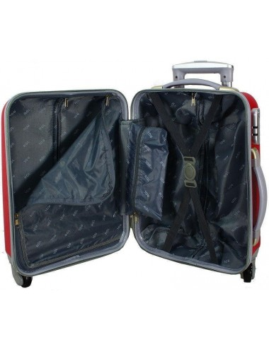 Zestaw walizek podróżnych na kółkach 883 4w1 - wnętrze