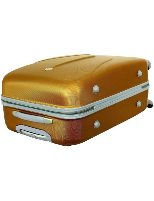 Zestaw walizek podróżnych na kółkach 883 3w1 RGL - stopki boczne