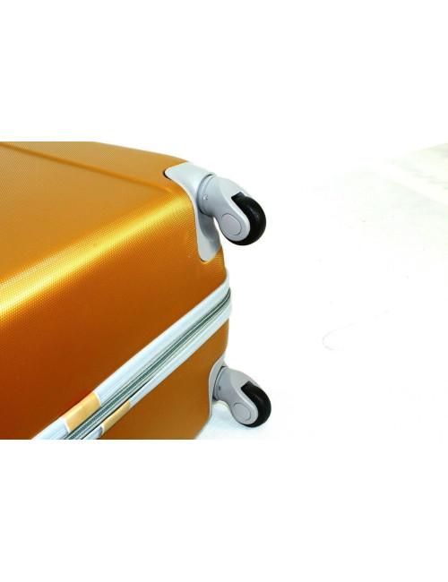 Zestaw walizek podróżnych na kółkach 883 3w1 RGL - obrotowe kółka