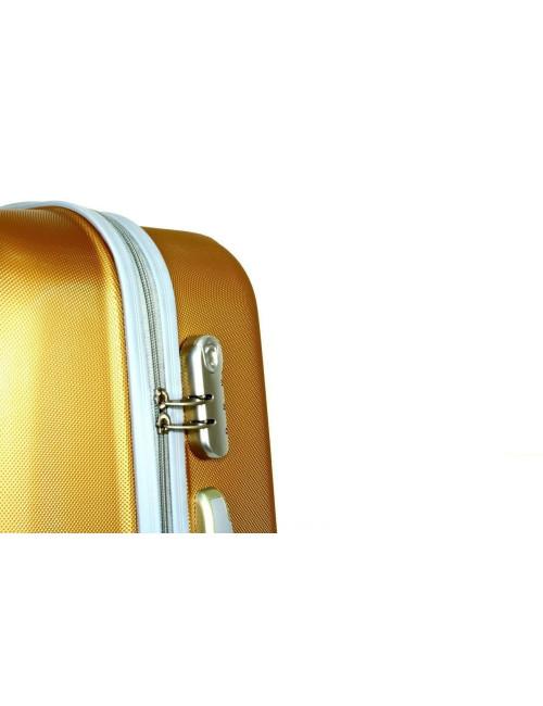 Zestaw walizek podróżnych na kółkach 883 3w1 RGL - zamek szyfrowy