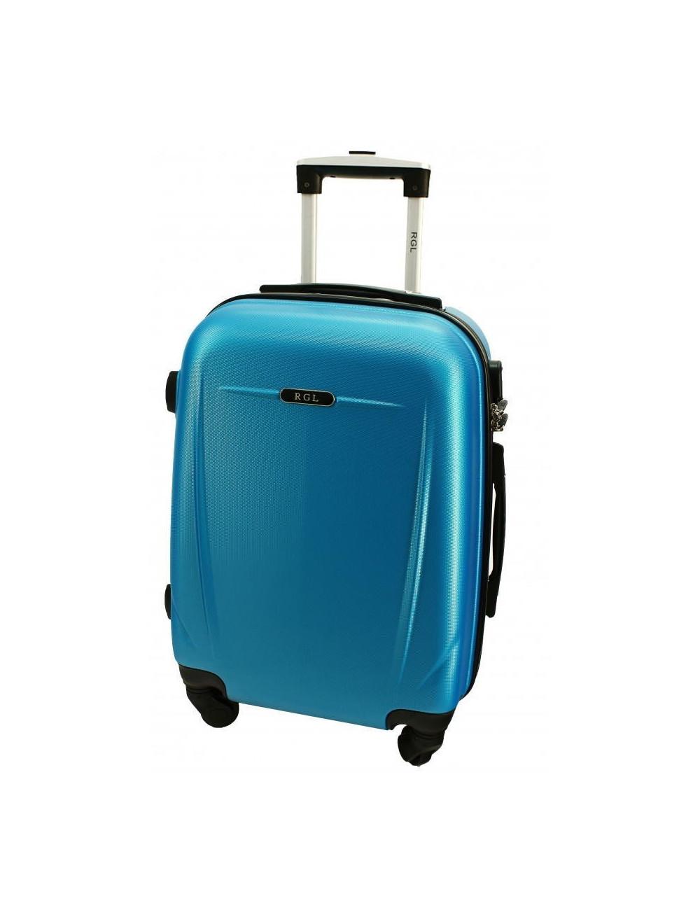 Mała walizka podróżna 780 L - niebieska metaliczna
