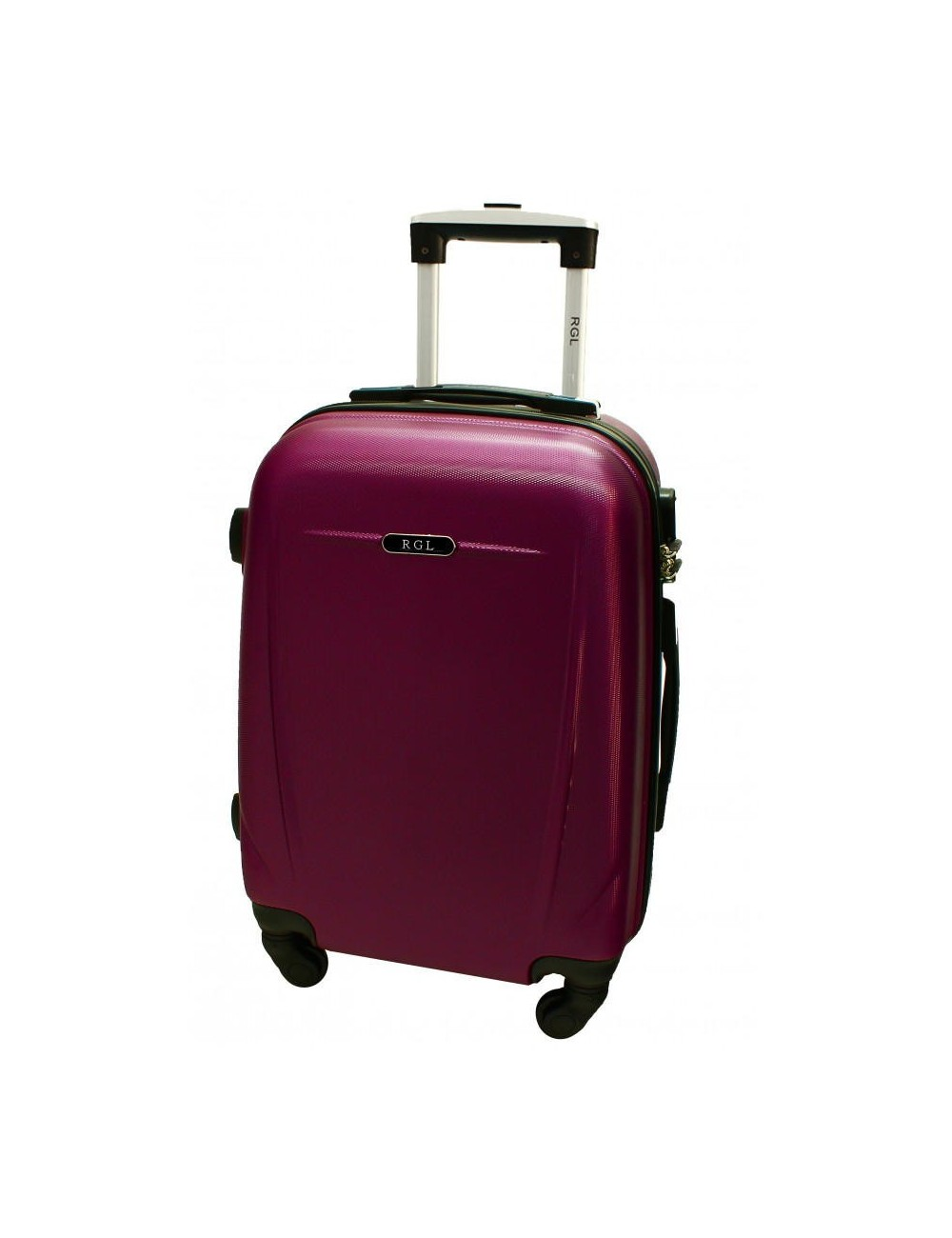 Mała walizka podróżna 780 L - bordowa