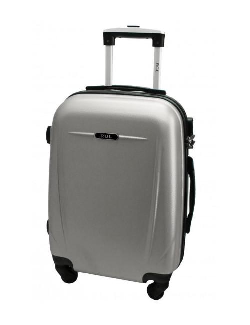 Mała walizka podróżna 780 L - srebrna