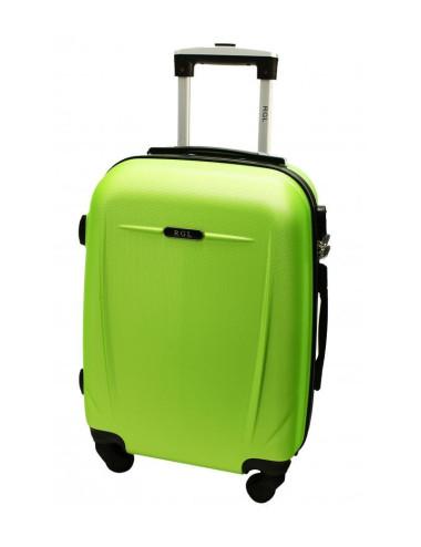 Duża walizka podróżna 780 XXL - limonkowa