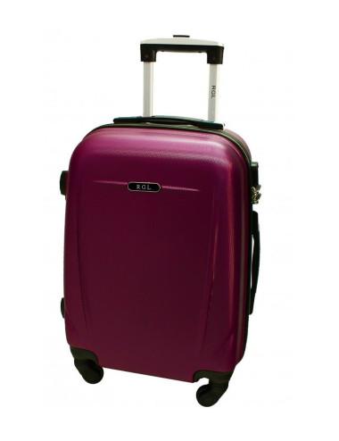 Duża walizka podróżna 780 XXL - śliwkowa
