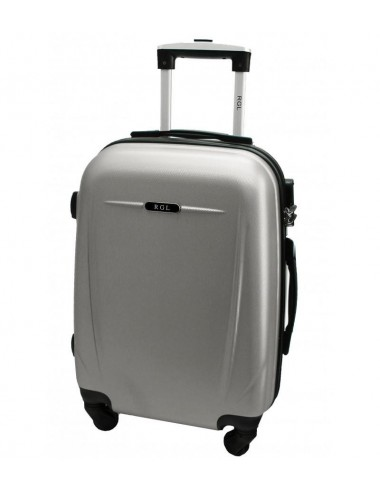 Duża walizka podróżna 780 XXL - srebrny