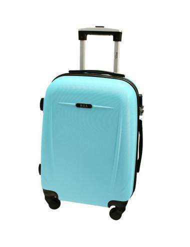 Duża walizka podróżna 780 XXL - lazurowa