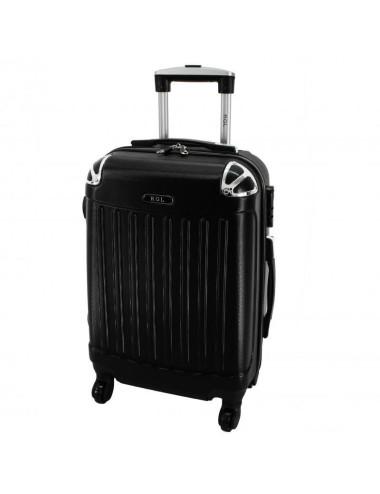 Mała walizka podróżna 735 L - Czarna