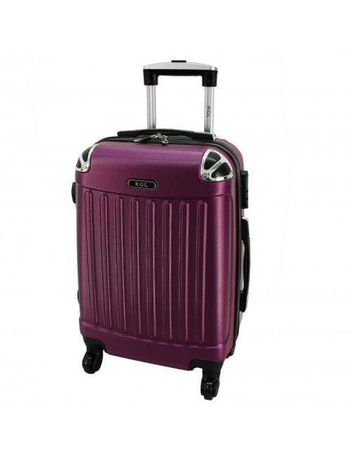 Mała walizka podróżna 735 L - Śliwkowa