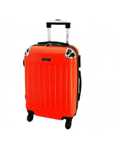 Mała walizka podróżna 735 L - Pomarańczowa