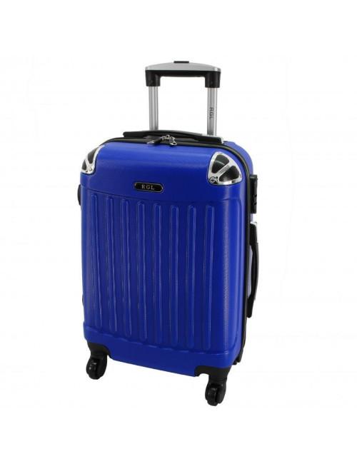 Mała walizka podróżna 735 L - Niebieska