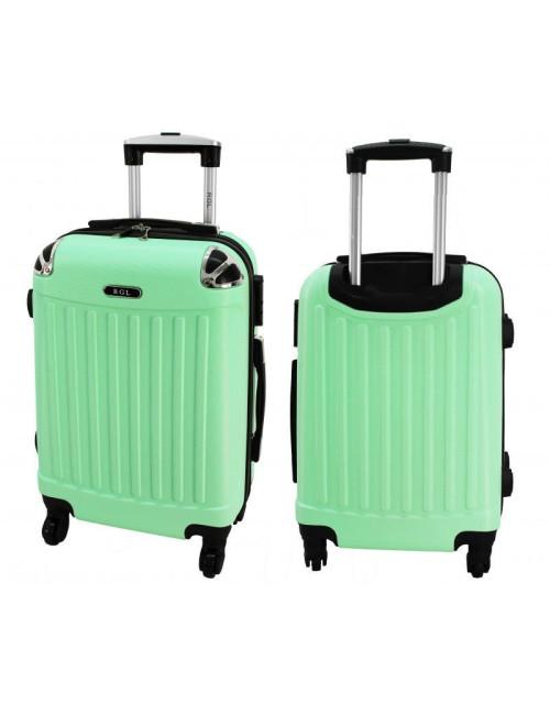 Mała walizka podróżna 735 L - Solidna Walizka