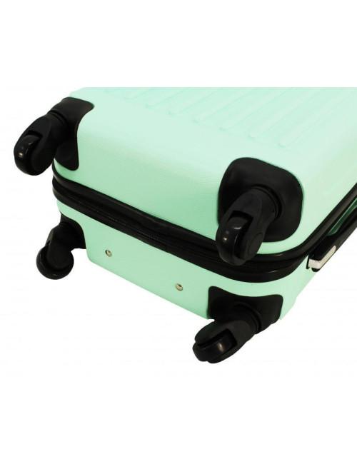 Mała walizka podróżna 735 L  - Kauczukowe Kółka