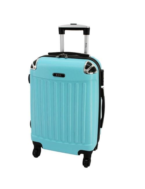 Mała walizka podróżna 735 L - Lazurowa