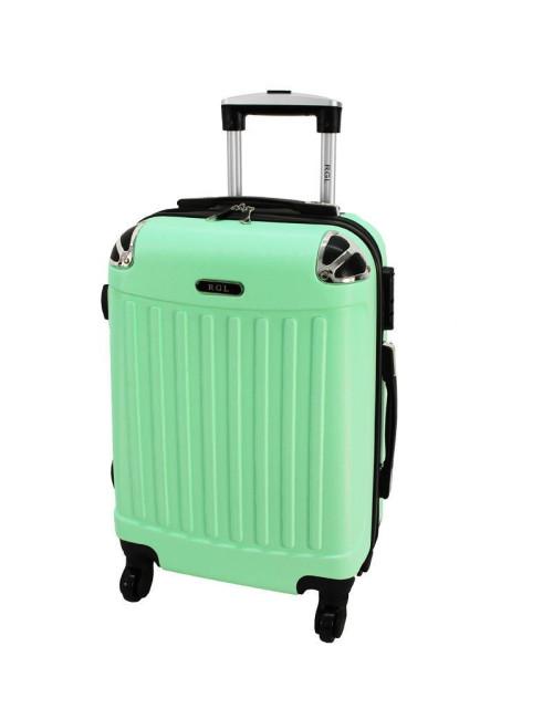 Mała walizka podróżna 735 L - Miętowa