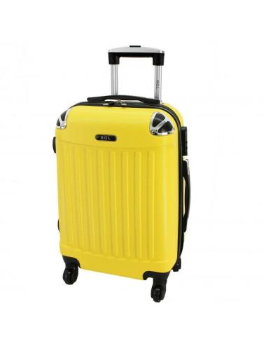 Duża walizka podróżna 735 XXL - Żółta