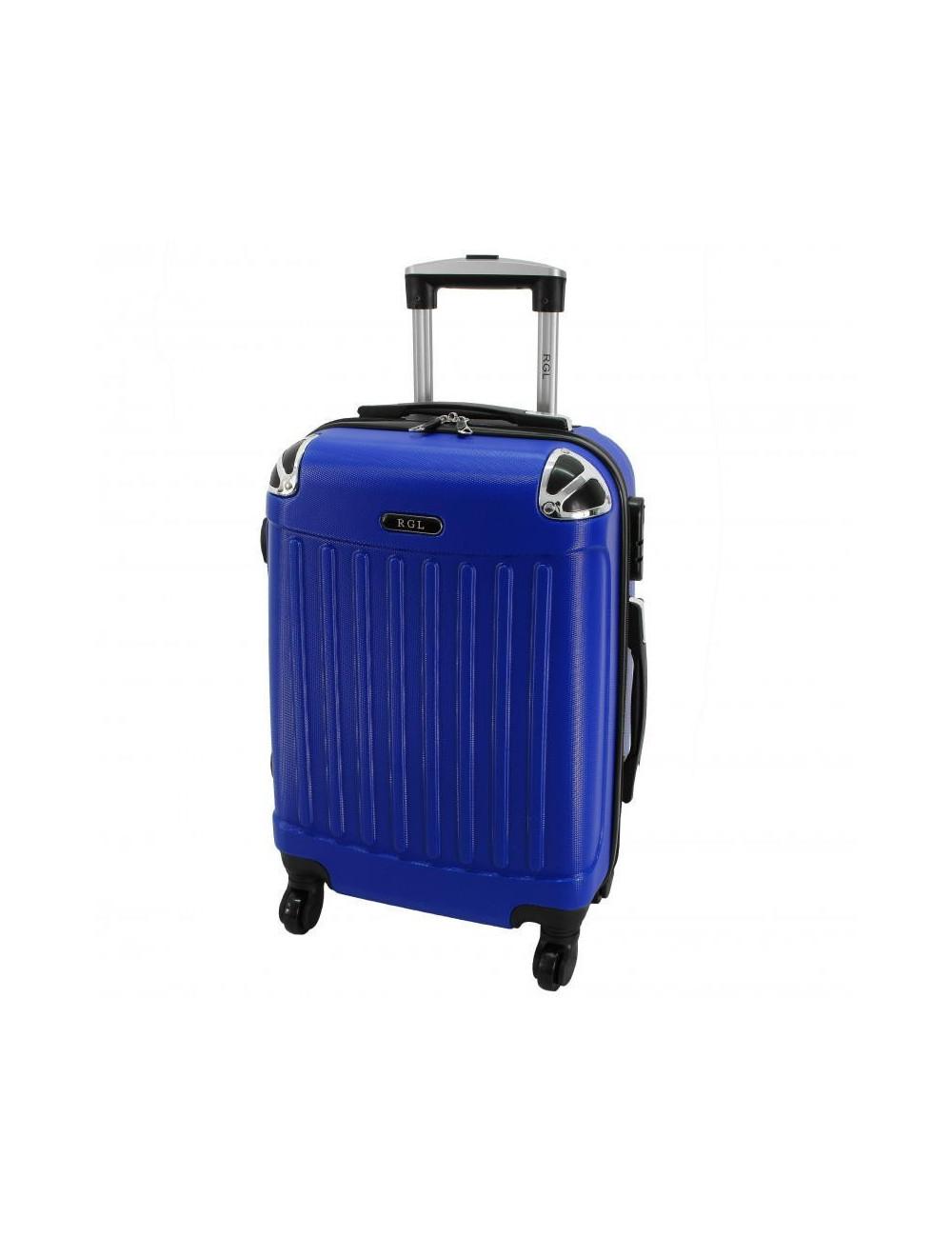 Duża walizka podróżna 735 XXL - Niebieska