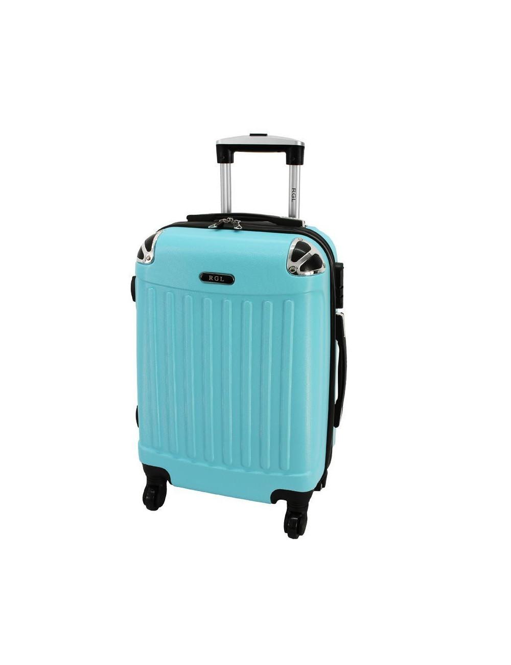 Duża walizka podróżna 735 XXL - Lazurowa