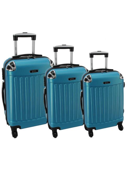 Komplet 3w1 735 (XXL XL L) - Metaliczny Niebieski