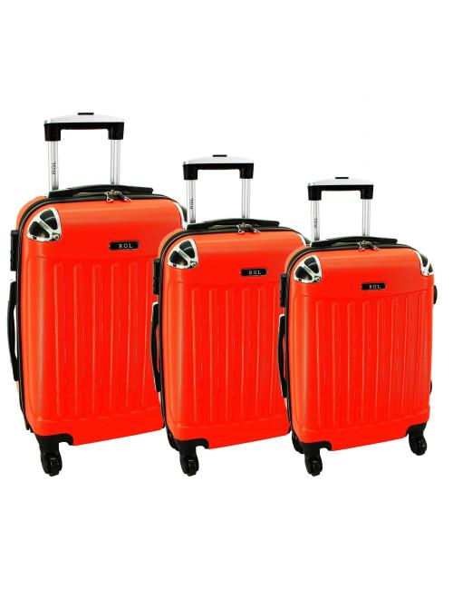 Komplet 3w1 735 (XXL XL L) - Pomarańczowy