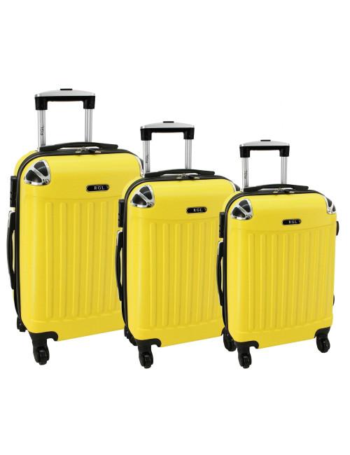 Komplet 3w1 735 (XXL XL L) - Żółty