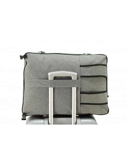 Plecak turystyczny RGL 40x20x25 Model 26B - tył na walizce