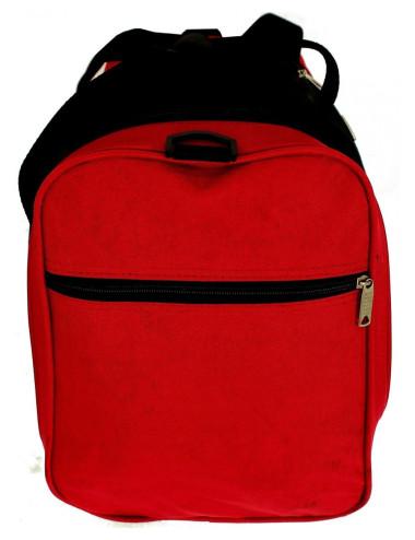 Uniwersalna Materiałowa Torba Podróżna C9 RGL - kieszonka na suwak z boku torby