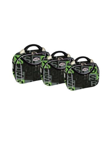 Zestaw kuferków podróżnych kosmetyczek 3w1 773 XXL XL L - kolor 8