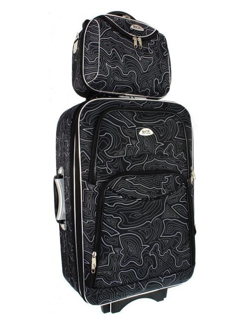 Mały kuferek podróżny kosmetyczka 773 L -  wygodny transport