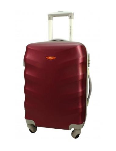 Duża walizka podróżna na kółkach 81 XXL RGL - bordowa