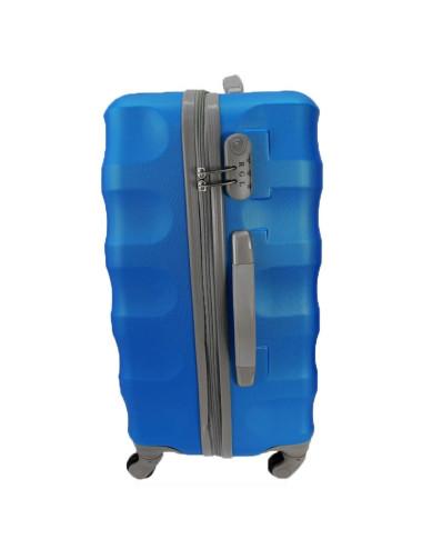 Duża walizka podróżna na kółkach 81 XXL RGL - bok