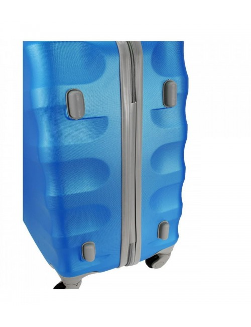 Duża walizka podróżna na kółkach 81 XXL RGL - stopki zabezpieczające
