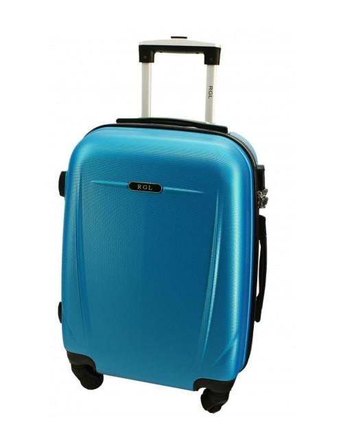 Średnia walizka podróżna 780 XL - niebieska metaliczna
