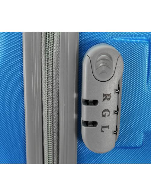 Zestaw walizek podróżnych na kółkach 3w1 81 RGL - zamek szyfrowy