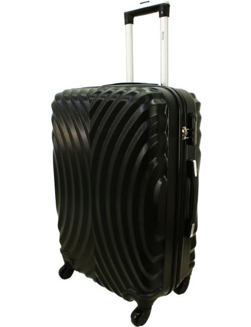 Duża walizka podróżna na kółkach 760 XXL - Czarny