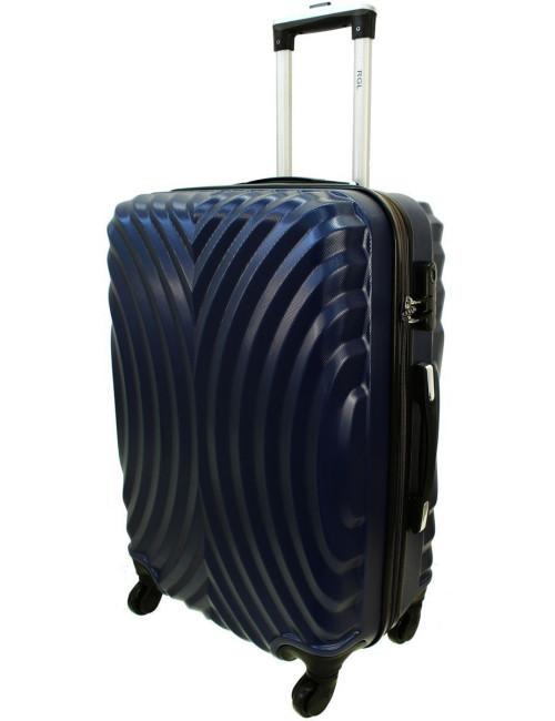 Duża walizka podróżna na kółkach 760 XXL - Granatowy
