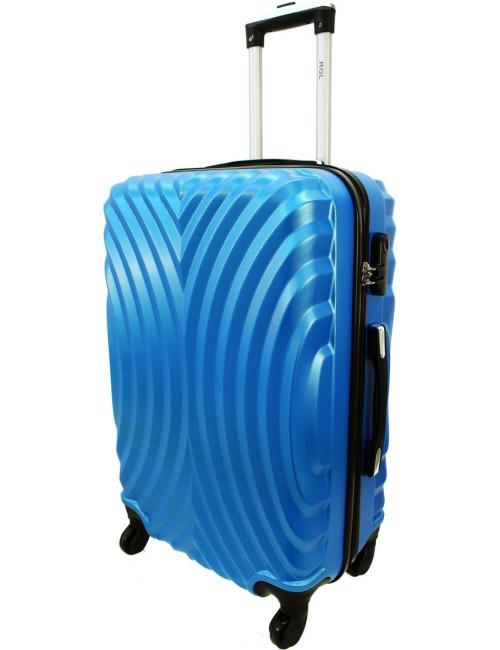 Średnia walizka podróżna na kółkach 760 XL - Niebieski