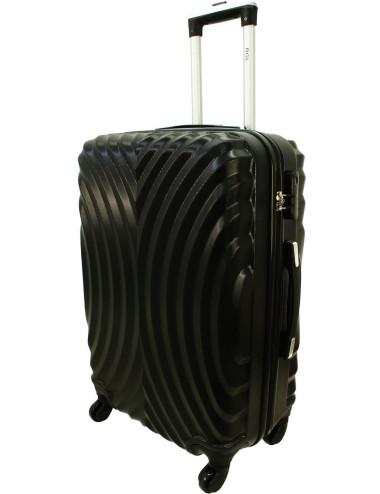 Średnia walizka podróżna na kółkach 760 XL - Czarny
