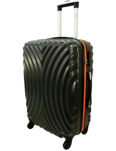 Średnia walizka podróżna na kółkach 760 XL - Grafitowo-Pomarańcz