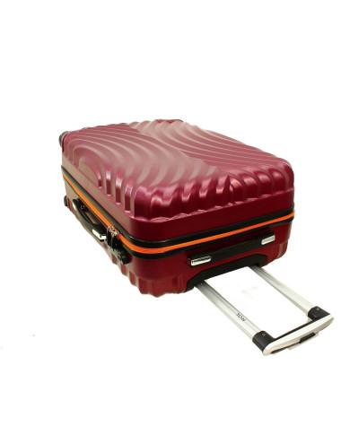 Zestaw walizek podróżnych na kółkach 3w1 760 XXL XL L - Wysuwany Stelaż