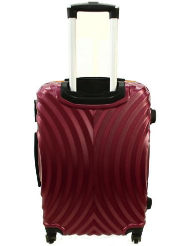 Zestaw walizek podróżnych na kółkach 3w1 760 XXL XL L - Solidny Materiał ABS