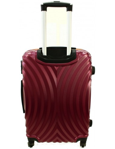 Duża walizka podróżna na kółkach 760 XXL - Duraluminiowy Stelaż