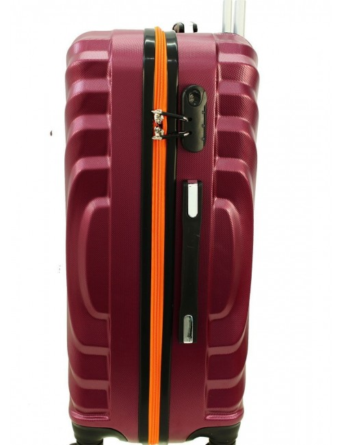 Duża walizka podróżna na kółkach 760 XXL - Wbudowany Zamek Szyfrowy