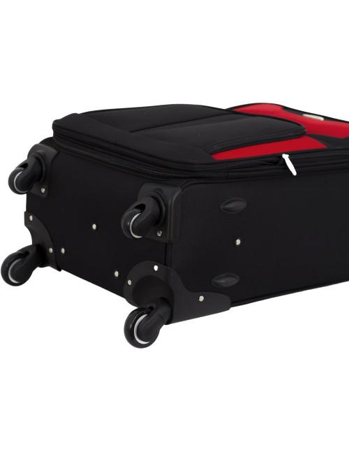 Zestaw walizek podróżnych 3w1 RGL S-010  XXL XL L - kółka