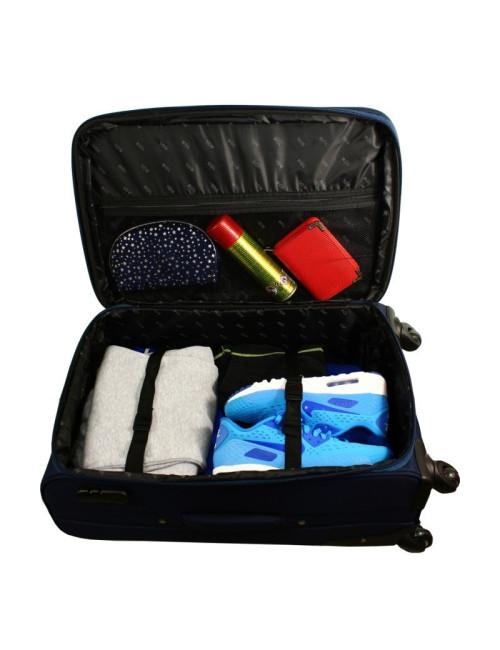 Zestaw walizek podróżnych 3w1 RGL S-010  XXL XL L -  środek