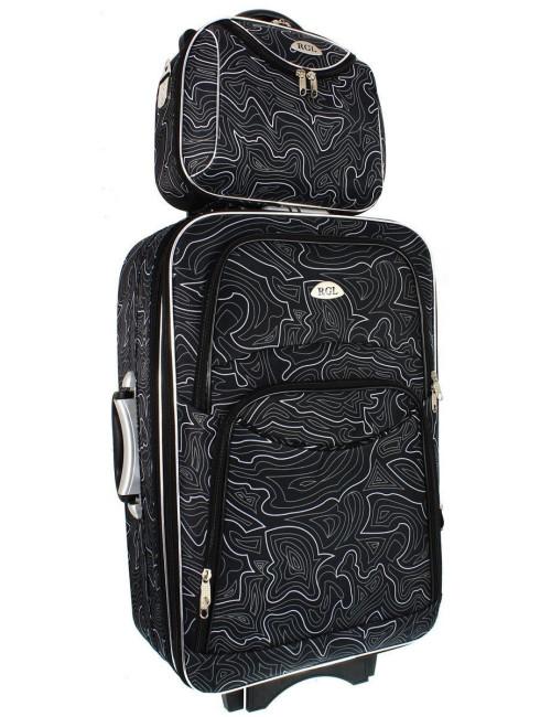 Duży kuferek podróżny kosmetyczka 773 XXL - wygodny transport