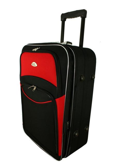 Mała walizka podróżna na kółkach 773 M - cztery stopki stabilizacyjne
