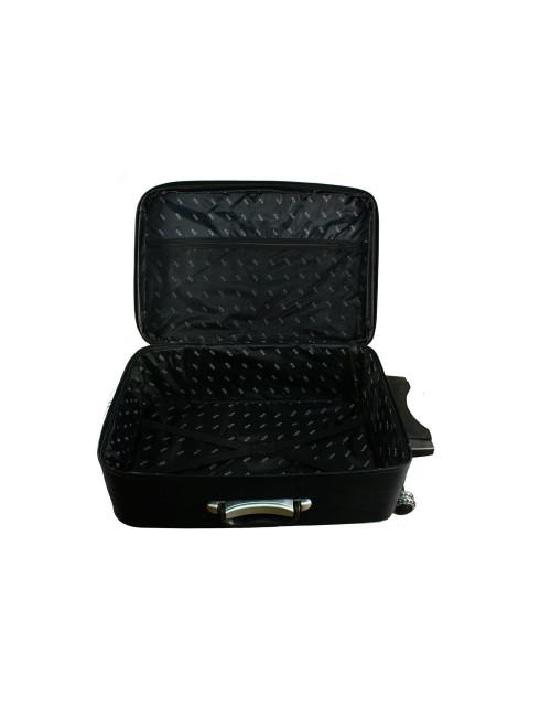 Mała walizka podróżna na kółkach 773 M - pojemna komora