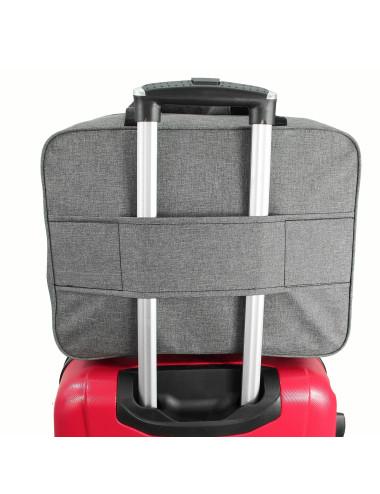 33C TORBA DO SAMOLOTU RYANAIR 55x40x20 - uchwyt na rączkę walizki